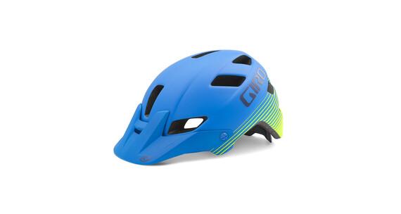 Giro Feature Helmet Matte Blue/Lime